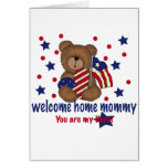 Welcome Home Mommy Bear Cards
