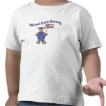 Welcome Home Mommy (Boy Bear) Tshirts