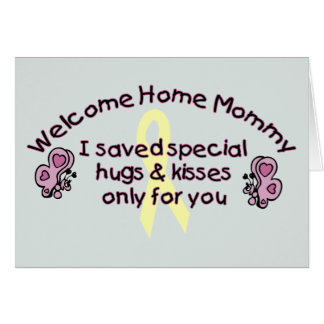 Welcome Home Mommy Card