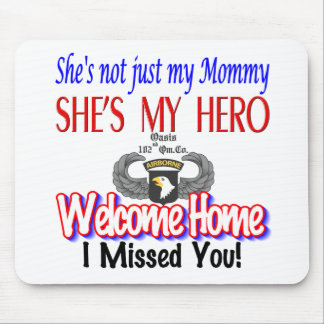 Welcome Home Mommy Products Mouse Pad