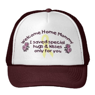 Welcome Home Mommy Trucker Hat