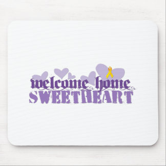 Welcome Home Mouse Pad