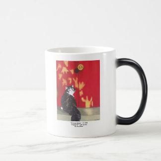 Welcome Home 11 Oz Magic Heat Color-Changing Coffee Mug