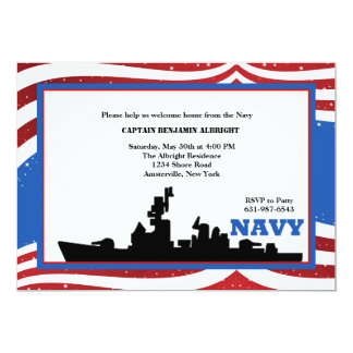 Welcome Home Navy Invitation
