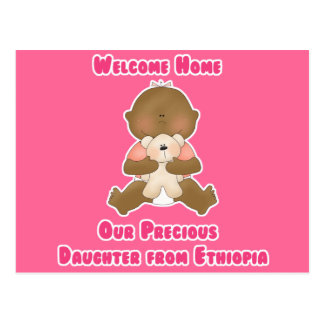 Welcome Home Our Precious Daughter Postcard