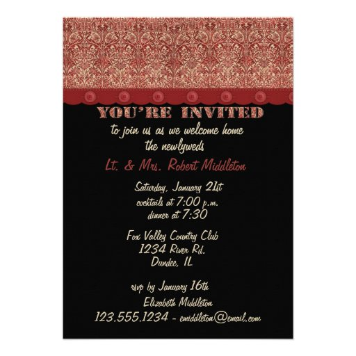 Welcome Home Party Invitation 5 X 7 Card Zazzle