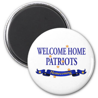 Welcome Home Patriots Magnet