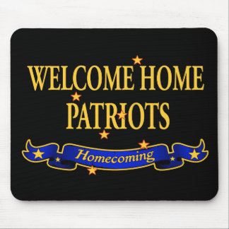 Welcome Home Patriots Mouse Pad