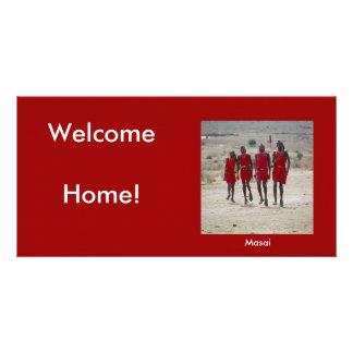 Welcome Home Custom Photo Card