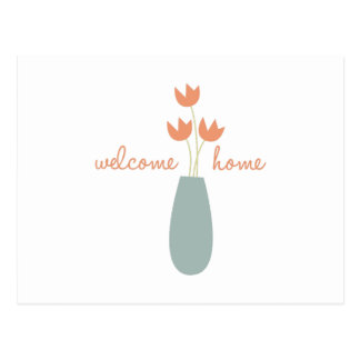 Welcome Home Postcard