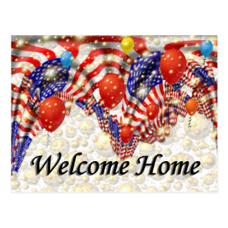 Welcome Home Postcards