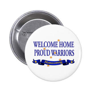 Welcome Home Proud Warriors Pins