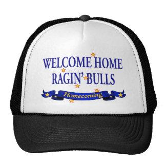 Welcome Home Ragin' Bulls Trucker Hat
