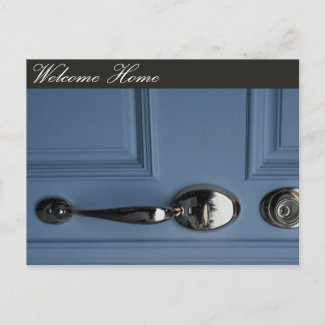 Welcome Home Realtors Marketing Postcard postcard