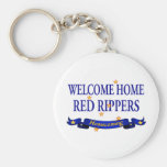 Welcome Home Red Rippers Keychains