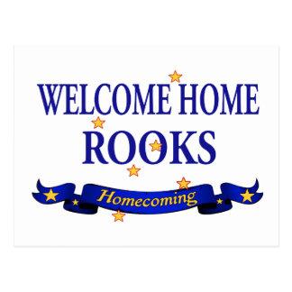 Welcome Home Rooks Postcard