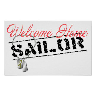 Welcome Home Sailor Poster