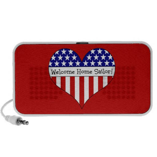 Welcome Home Sailor! Travelling Speakers