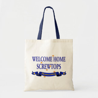 Welcome Home Screwtops Tote Bag