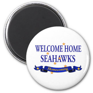 Welcome Home Seahawks 2 Inch Round Magnet