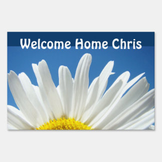 Welcome Home Sign Add Your Name Daisy