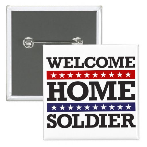 Welcome home soldier gifts t shirts art posters for Welcome home soldier decorations