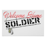 Welcome Home Soldier Poster