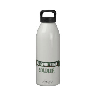 Welcome Home Soldier Drinking Bottles