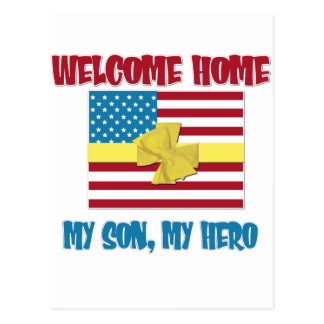 Welcome Home Son Postcard