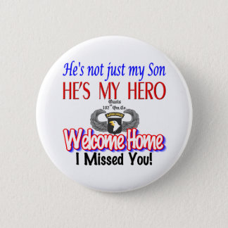 Welcome Home Son Products Pinback Button