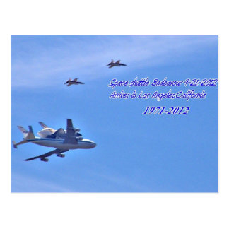 Welcome Home,Space shuttle Endeavor_Postcard Postcard