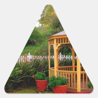 Welcome Home Triangle Sticker