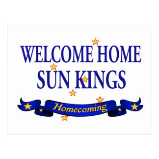 Welcome Home Sun Kings Post Card