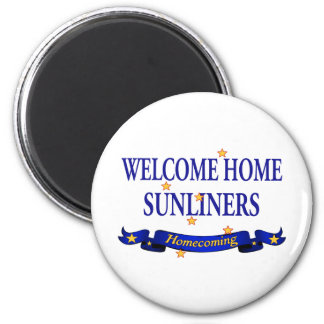 Welcome Home Sunliners 2 Inch Round Magnet