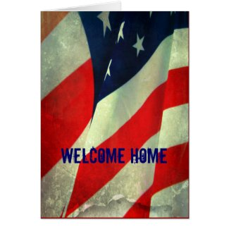 Welcome Home/Thank you Military Card