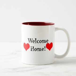Welcome Home Two-Tone Coffee Mug