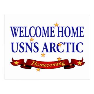 Welcome Home USNS Arctic Postcard