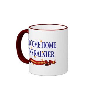 Welcome Home USNS Rainier Ringer Mug