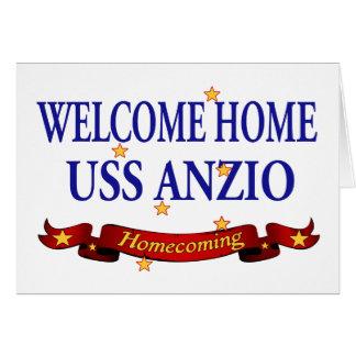 Welcome Home USS Anzio Card