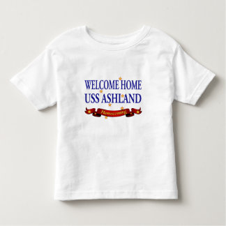 Welcome Home USS Ashland Toddler T-shirt