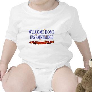 Welcome Home USS Bainbridge Baby Creeper