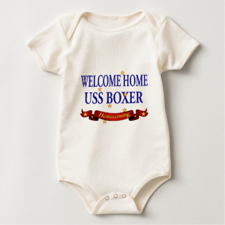 Welcome Home USS Boxer Baby Bodysuit