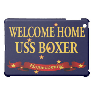 Welcome Home USS Boxer iPad Mini Cases