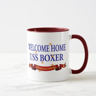 Welcome Home USS Boxer Mug