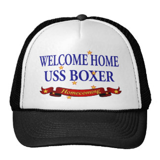 Welcome Home USS Boxer Trucker Hat
