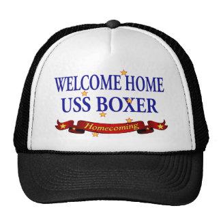 Welcome Home USS Boxer Trucker Hat