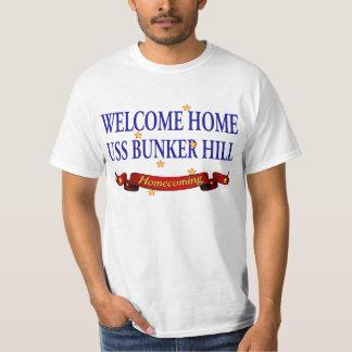 Welcome Home USS Bunker Hill T-Shirt