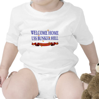 Welcome Home USS Bunker Hill T Shirts