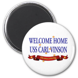 Welcome Home USS Carl Vinson Magnet