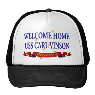 Welcome Home USS Carl Vinson Trucker Hat